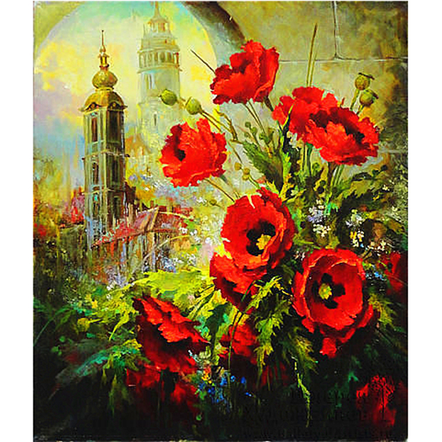 2015 top fashion paintings pastoral resin plant square castle red 2015 top fashion paintings pastoral resin plant square castle red poppy flower diamond painting diy cross mightylinksfo