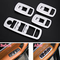 Auto Car Door Armrest Window Lift Switch Button Cover Trim Styling Sticker ABS Fit For Maserati Ghibli Levante x4