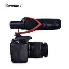 лучшая цена Commlite CVM-V30-R Professional DSLR Condenser Shotgun Microphone Video Interview Reporting for Canon Nikon Sony DSLR Camera