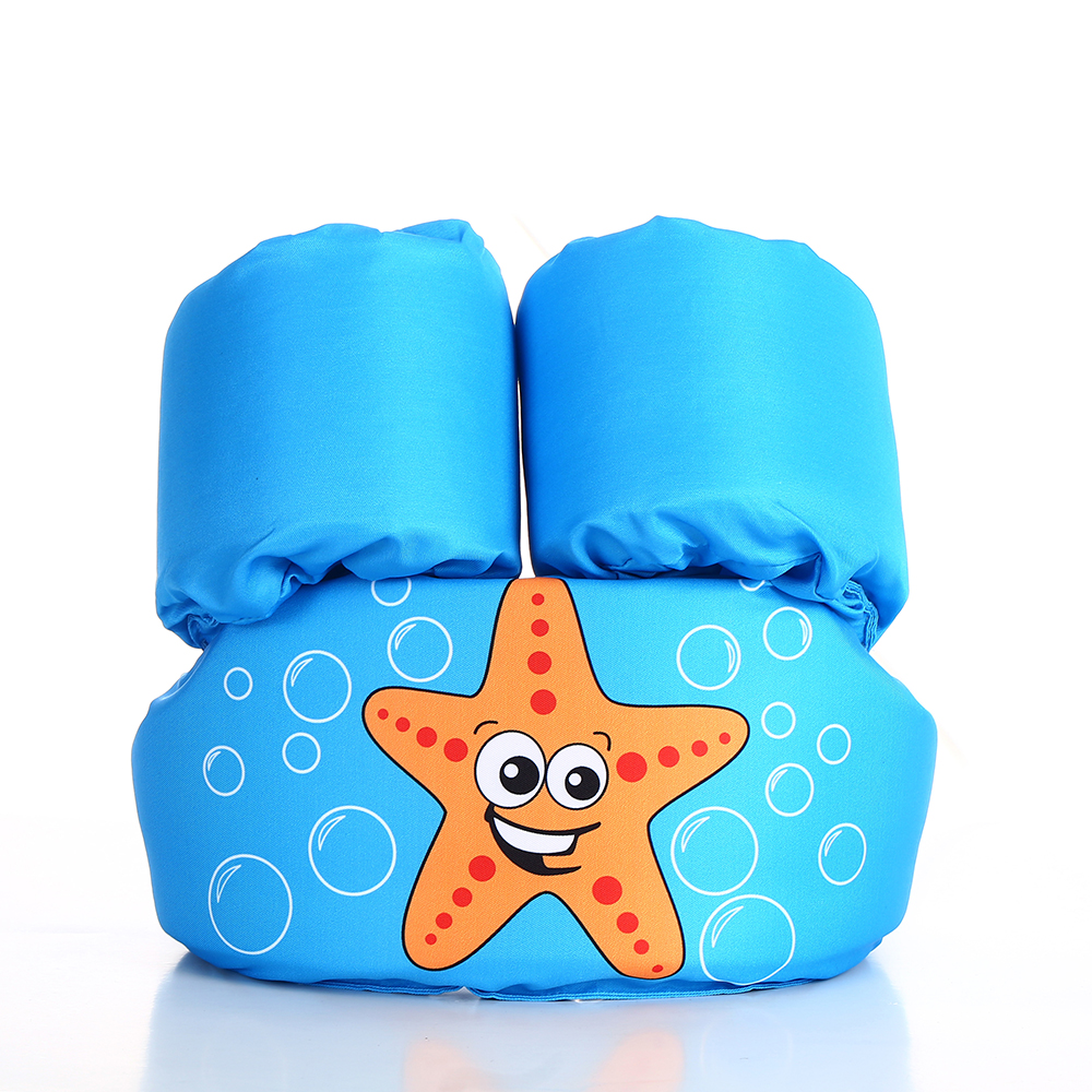 2 6Year Old Inflatable Child Swim Vest Cartoon Life Vest Jackets Kids Swimming pool Float Ring Swim Arm Ring Safety Training To in Life Vest from Sports Entertainment