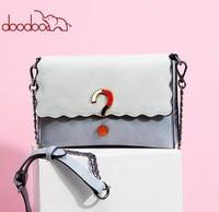 Doodoo سؤال علامة الديكور وأنيقة عالية الجودة حقائب النساء حقائب جلدية الشحن حقيبة الإناث عارضة السيدات FR638