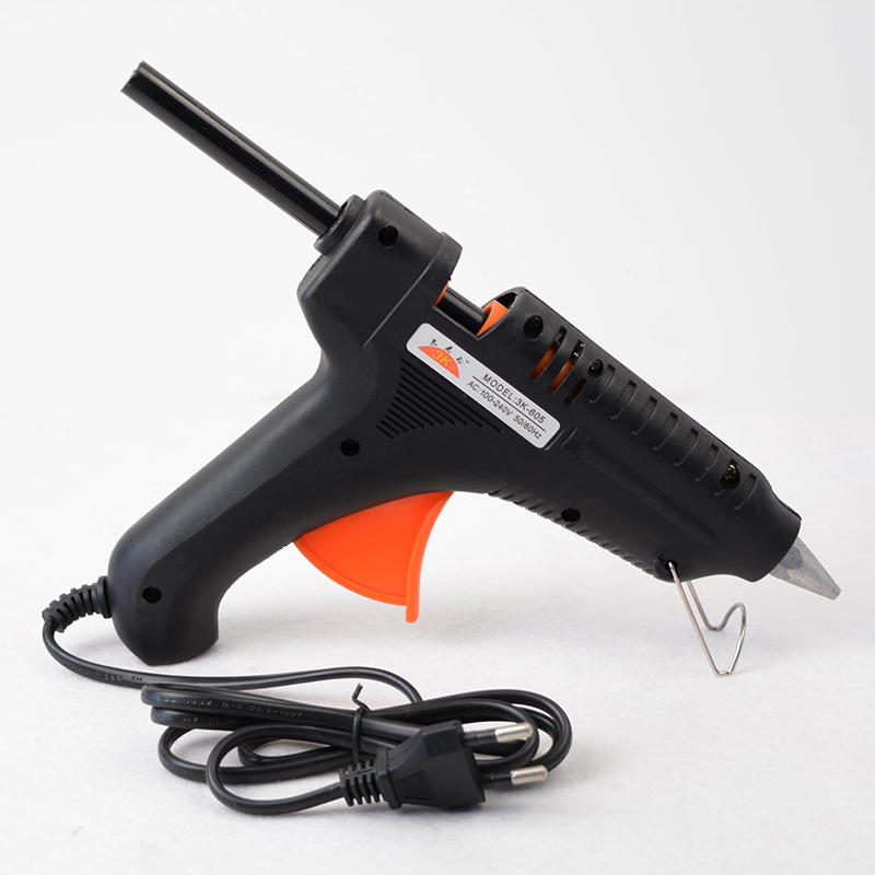 80W Professional Hot Melt Glue Gun EU Plug 100 240V Electric High Temp Heater Glue Gun