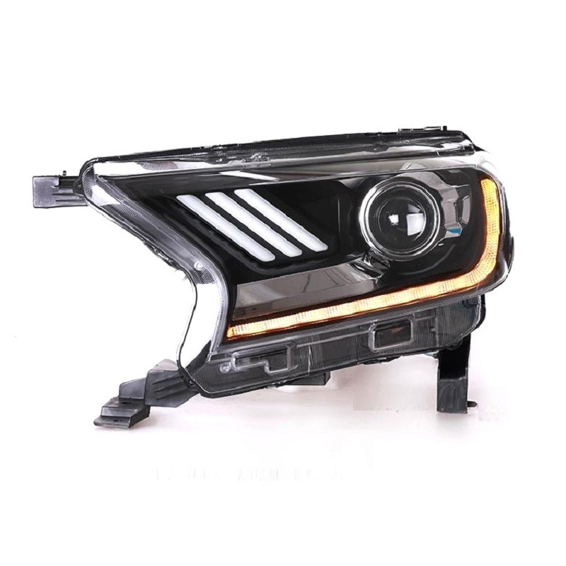 Auto Accessory Automobiles Lamp Styling Daytime Running Led Drl Front Fog Headlights Car Lights Assembly For Ford Everest