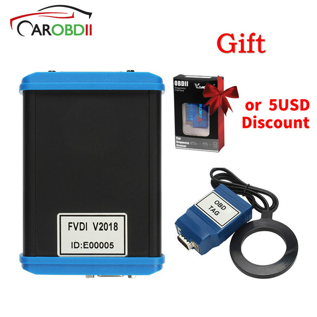 Special Price FVDI 2018 ABRITES Commander Scanner With 18 Software Diagnostic Tool 2015 2014 Version Elm327 As Gift J2534 For IDS Car-Styling