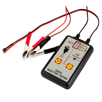 EM276 Fuel System Professional Powerful 4 Pulse Modes LED Display Injector Tester Indicator Pressure Universal Auto Repair Tool