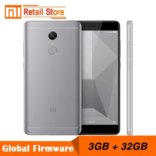 """Оригинальный Xiaomi Redmi Note 4X Note4 x Snapdragon 625 Octa Core мобильный телефон 3 ГБ Оперативная память 32 ГБ Встроенная память 13.0MP 5.5 """"FHD отпечатков пальцев ID"""