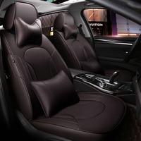 Заказ/кожаный чехол автокресла для Land Rover Range Rover Discovery Freelander Спорт Evoque 2017 2014 Аксессуары стиль