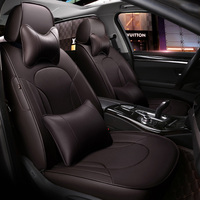 Custom made/ Leather car seat cover For Land Rover range rover discovery freelander Sport evoque 2017 2014 accessories styling