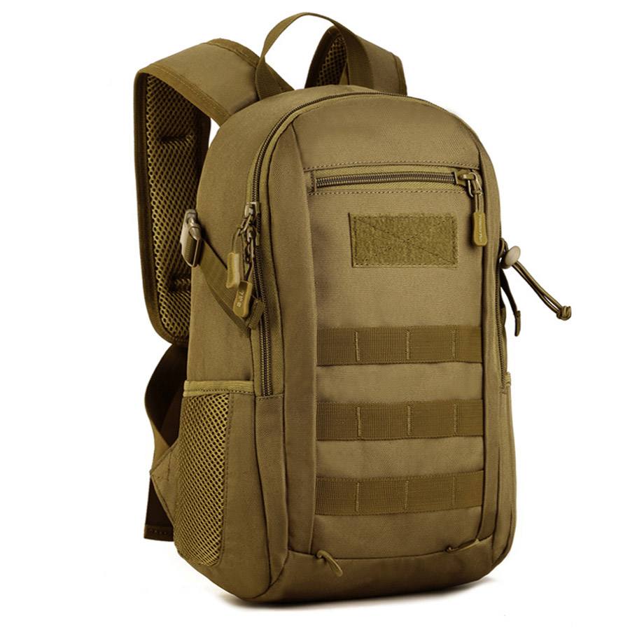 Cycling 12L Mini Daypack Military Backpack Rucksack Gear Tactical Assault Pack Student School Bag for Hunting Camping Trekking