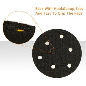 Image 5 - SPTA Backer Lưng Tấm Pad 2Inch/3Inch/4Inch/5Inch/6Inch Móc & Vòng Lặp Cho Không Khí Nhám Xe Máy Đánh Bóng ĐỆM PHỒNG    Chọn Size