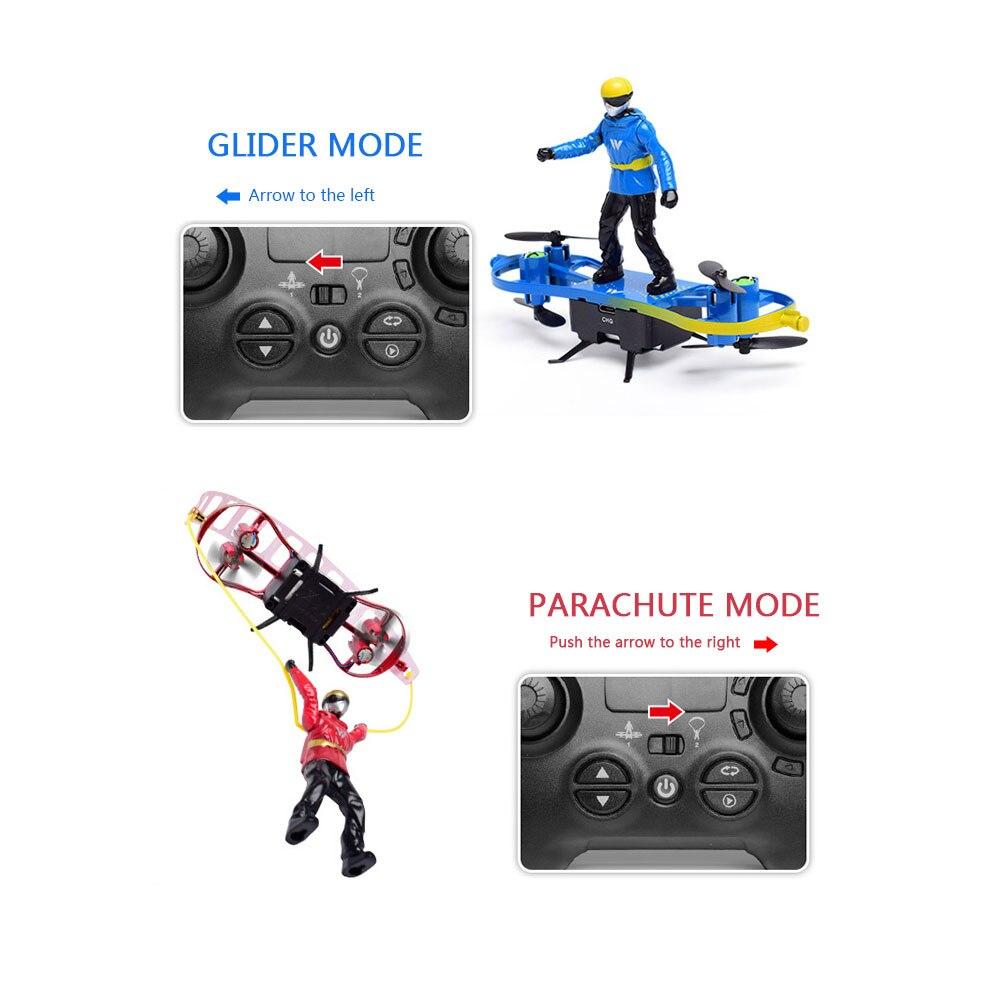 Пульт дистанционного управления летательный аппарат двойной режим самолет пластиковый RC самолет игрушка обучающая домашняя многоцветная Rc самолет детский подарок
