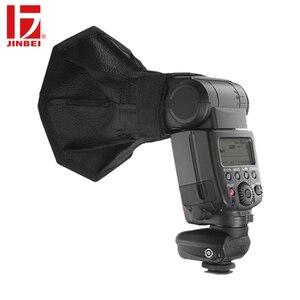 Image 3 - JINBEI Universal 20 cm Octagon en la Cámara difusor de Flash plegable Softbox para Flash Speedlite retrato foto estudio Accesorios
