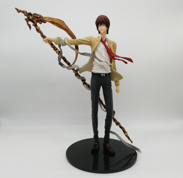 Tobyfancy Anime Death Note Yagami PVC Action Figure Death Note Collection Model Toy anime one piece dracula mihawk model garage kit pvc action figure classic collection toy doll
