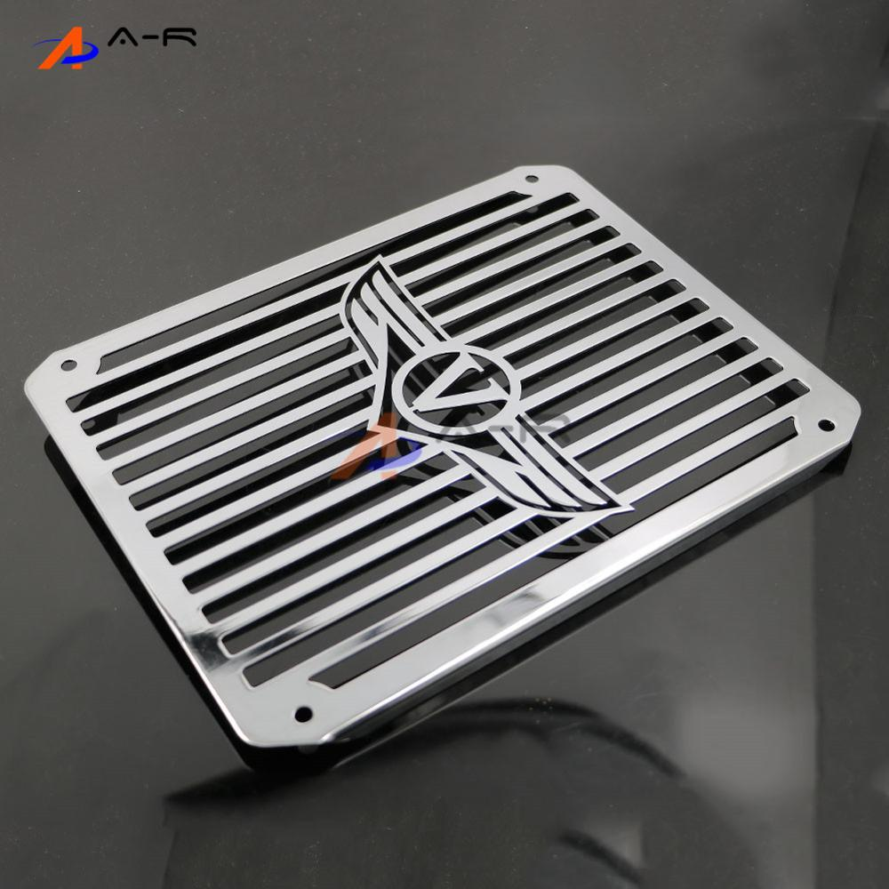 Motorcycle Engine Radiator Cover Bezel Grille Guard Cooler Protector for Kawasaki KAWASAKI Vuclan 400 800 VN400 VN800 Universal chrome motorcycle accessories engine radiator bezel grille protector grille guard cover for kawasaki z900 2017