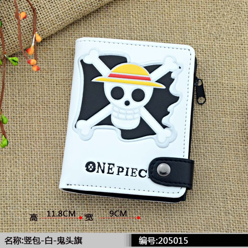 new style Leather Men Short Bifold Tokyo Ghou Wallet Fairy Tail One piece Wallets Purse Coin Pocket Male Zipper Purse japanese anime poke death note attack on titan one piece game ow short wallet with coin pocket zipper poucht billetera