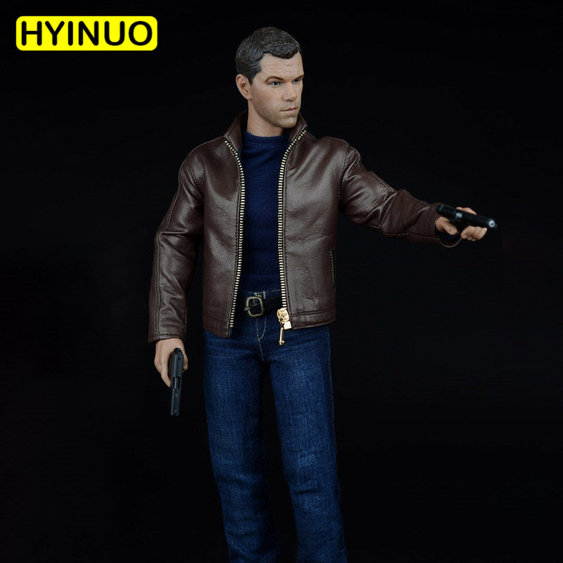1/6 Scale Male Matt Damon Agent Leather Suit Man Clothing Model Accessories Clothes Clothing Set For 12 Male Figure Body Doll1/6 Scale Male Matt Damon Agent Leather Suit Man Clothing Model Accessories Clothes Clothing Set For 12 Male Figure Body Doll