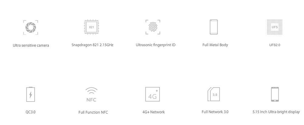Original Xiaomi Mi5s Mi 5S  Mobile Phone  xiaomi 5s highlight