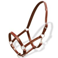 Adjustable Leather Horse Riding Headstall Equipment Durable Horse Halter Horse Bridle Equestrian Cheval Accessories
