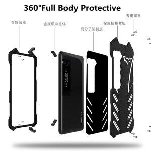 Image 4 - 360 גוף מלא להגן על בת מקרה לmeizu פרו 7 בתוספת פרו 6 אלומיניום מתכת פגוש כיסוי עבור Oneplus 7 פרו 7T 5 5T 6 6T טלפון מקרה