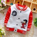 The new spring 2016 0-2 years old baby boys long sleeve coat