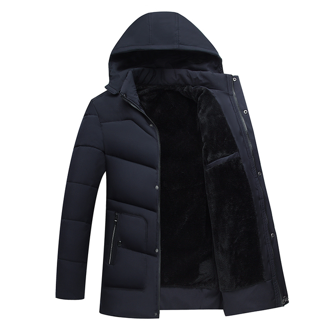 US $39.29 50% OFF|mannen kleding 2019 herren jacken winter warm coats men, fashion jackets, down jackets long coats in Down Jackets from Men's