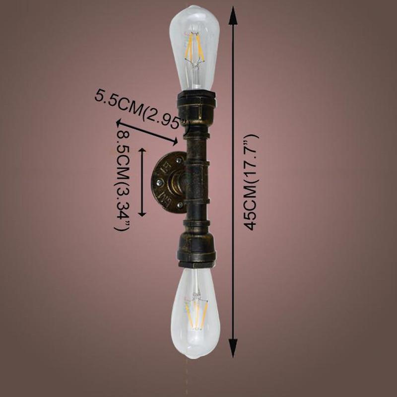 Hot Price #3355 E27 Lamp Holder Creative American Village