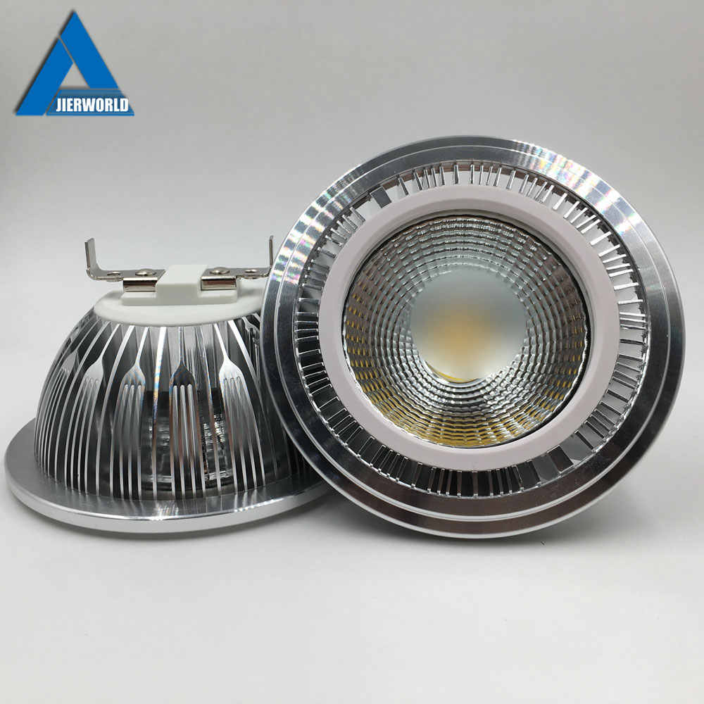 GU10 AR111 LED Downlight lamp cob 7W 9W 12W Lampada led Spot light AR 111 Fixture 110V 120V 220 V 15W GU10 Spotlight 220V