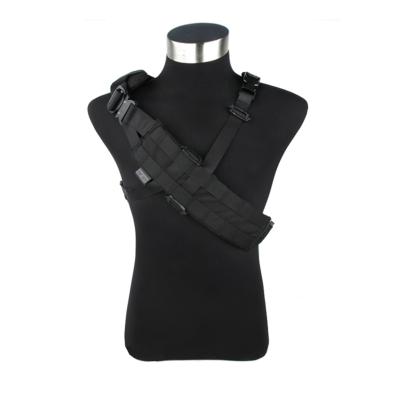 2017 MOLLE Light 2 side Bandolier 500D Nylon Molle side Tactical Belt with metal buckle