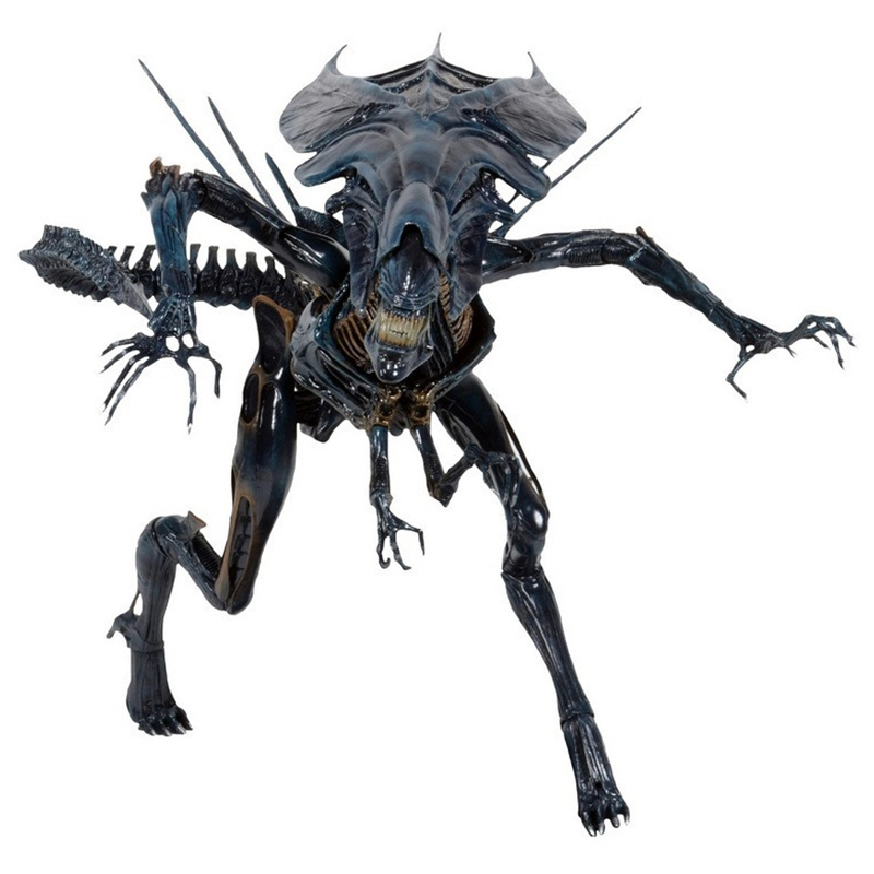 2 style High Quality NECA ALIEN Original toy Aliens vs Predator xenomorph Queen mother PVC action figure Collectible Model Doll