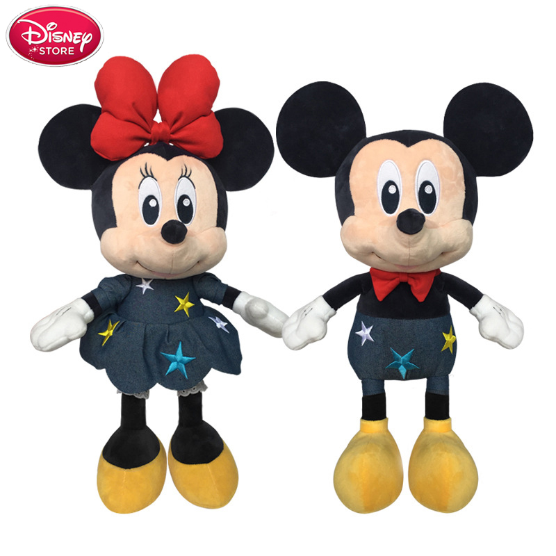 Disney Toys Mickey Mouse And Minnie Mouse Plush Toys Dolls