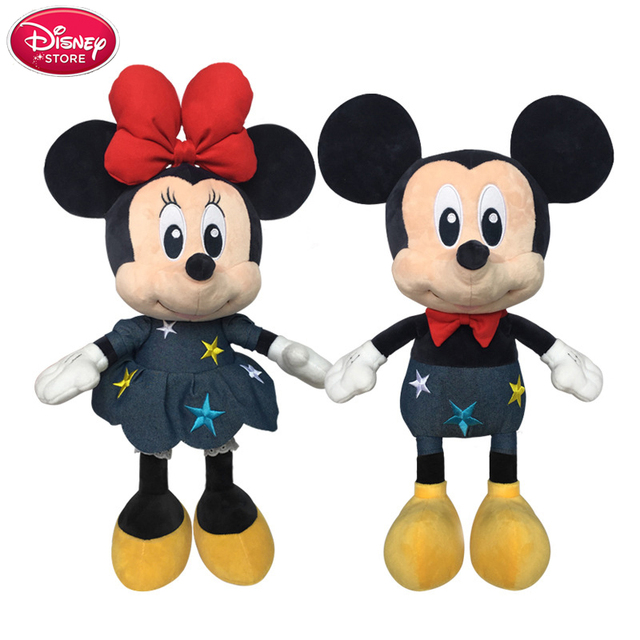 Disney Toys Mickey Mouse And Minnie Mouse Plush Toys Dolls Stuffed