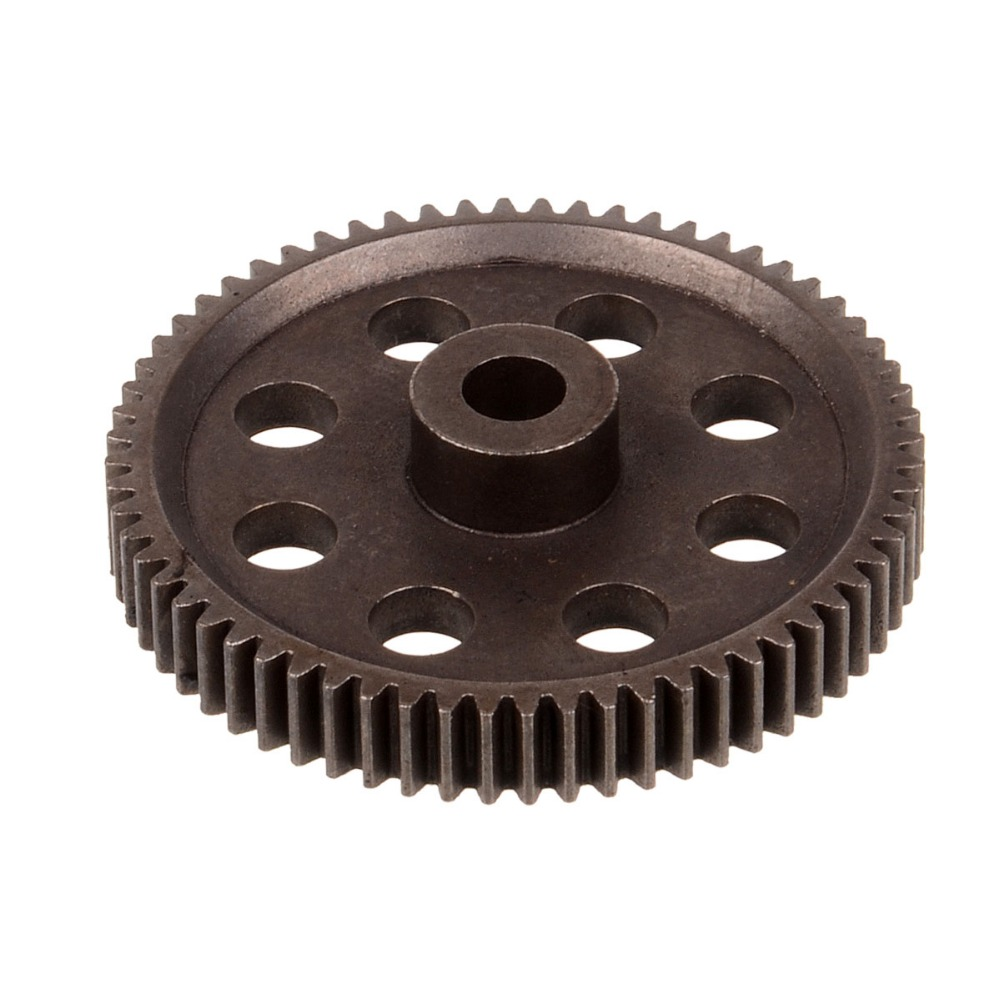 HSP Parts 11184 Steel Metal Spur Diff.Main Gear 64T For 1/10 RC Car Baja Monster Truck BRONTOSAURUS 94111 Buggy XSTR PRO  81021 drive gear joint cups rc hsp 1 8 parts rc car monster truck buggy bazooka tornado rapido rattlesnake copperhead searover