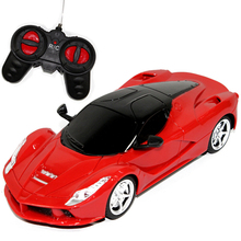 2016 1/24 rc car radio remote control toys wireless electric drift car with LED light toy gift for children boys Original Box
