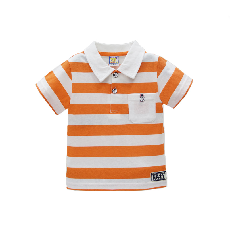2017-New-arrival-polo-t-shirt-baby-short-striped-for-boys-tops-pure-cotton-children-summer-clothing-Girls-Tee-1