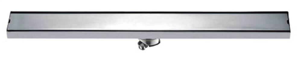 600mm Long Strip Floor Drain 304 Stainless Steel Odor resistant With Tile Insert Grate Invisible Shower