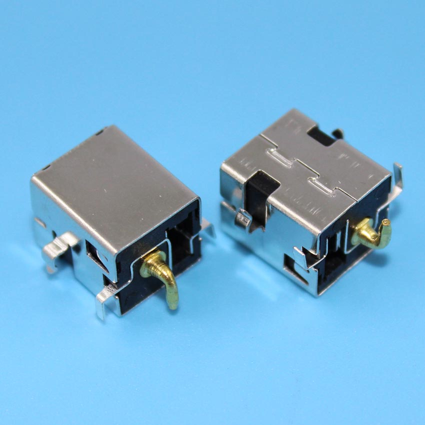 YuXi 2.5mm DC Power Jack Golden pin for Asus K52JR A52 A53 K52 k53 U52 X52 X53 X54 PJ033 A43 X43 A53 A53S U30 LAPTOP