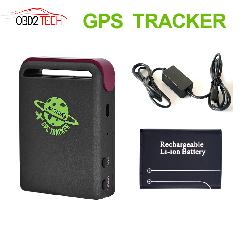 TK102B MiNi Car Popular portable GPS Tracker Quan-band TK102 Vehicle GPS GSM GPRS RealTime SMS Location Tracking Device