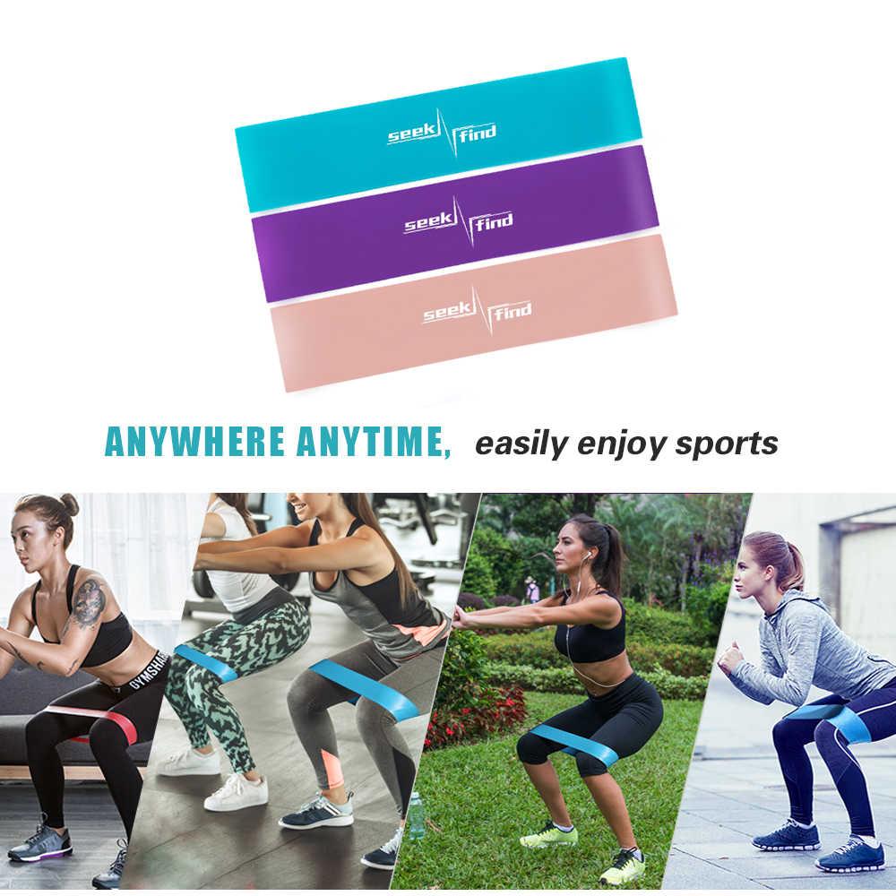Per il fitness Gomma Fasce di Resistenza Resistenza di Loop Expander Elastici per Il Fitness Esercizio Attrezzature di Allenamento Formazione stivaletti Bande Palestra Gomma