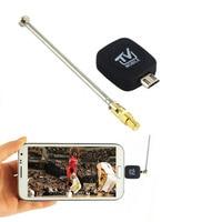 Mini Micro USB DVB-T tuner ricevitore TV Dongle/Antenna DVB T HD TV HDTV Ricevitore Satellitare Digitale Mobile per Android Phone