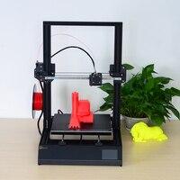 Mais novo grande tamanho de impressão 300*300*400mm dmscreate dpx 3d kit impressora metal quadro boa qualidade alta precisão|3d printer|new 3d printer|printer 3d -