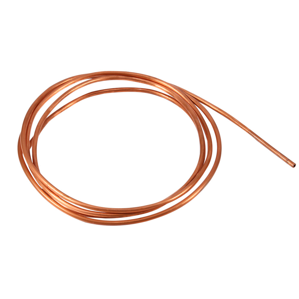 2m soft copper tube tubing for fridge and air conditioning for Copper pipes price