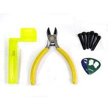 Guitar Replace Strings Tool Kit String Cutter String Winder Bridge Pin and Picks