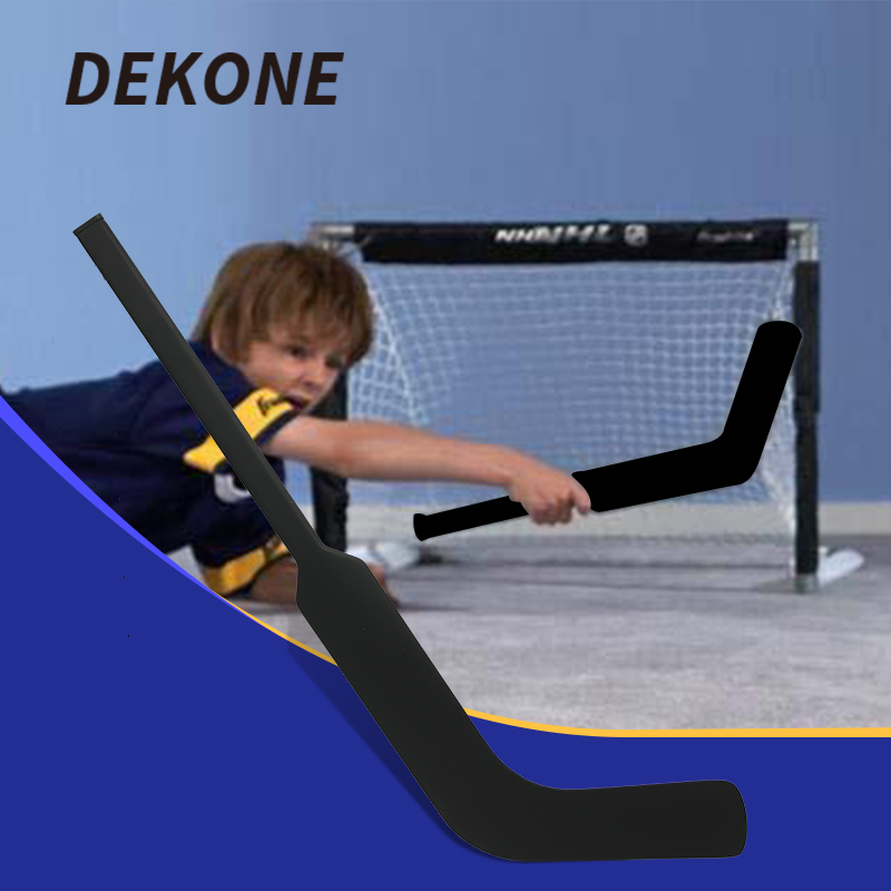 Mini bâton de Hockey de gardien de but Composite Mini taille poids léger pour divertissement publicité jeux de famille 27