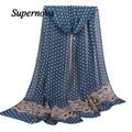 Women Scarf Shawl High quality Ladies Chiffon Autumn Winter Soft Wrap Shawl Dot from india foulard Twilly WSep12