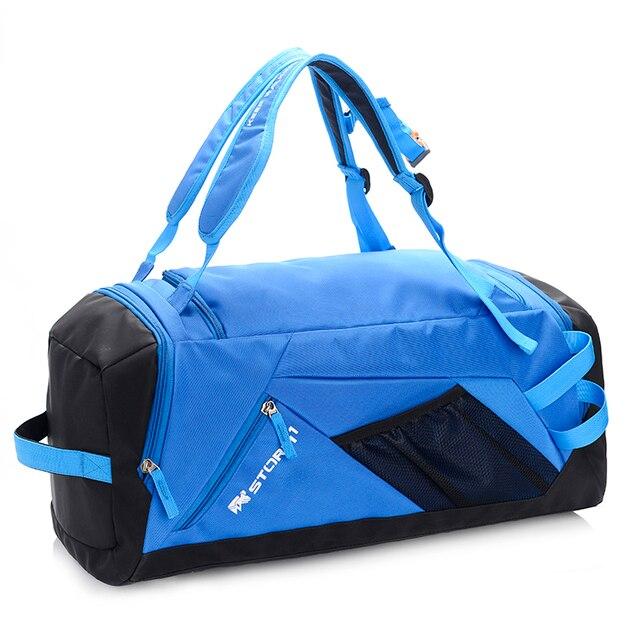 30L Large Capacity Travel Duffel Bag Waterproof Nylon Gym Hiking Sling Shoulder Durable Camping Daypack