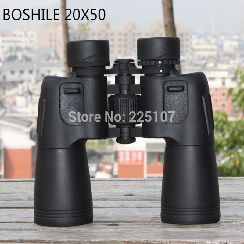 BOSHILE 20X50 High Quality Hd wide-angle Central Zoom Portable LLL Night Vision Waterproof Binoculars Telescope original boshile high power 15 75x25 mini zoom monocular pocket flexible focus zoom telescope for camping dy007