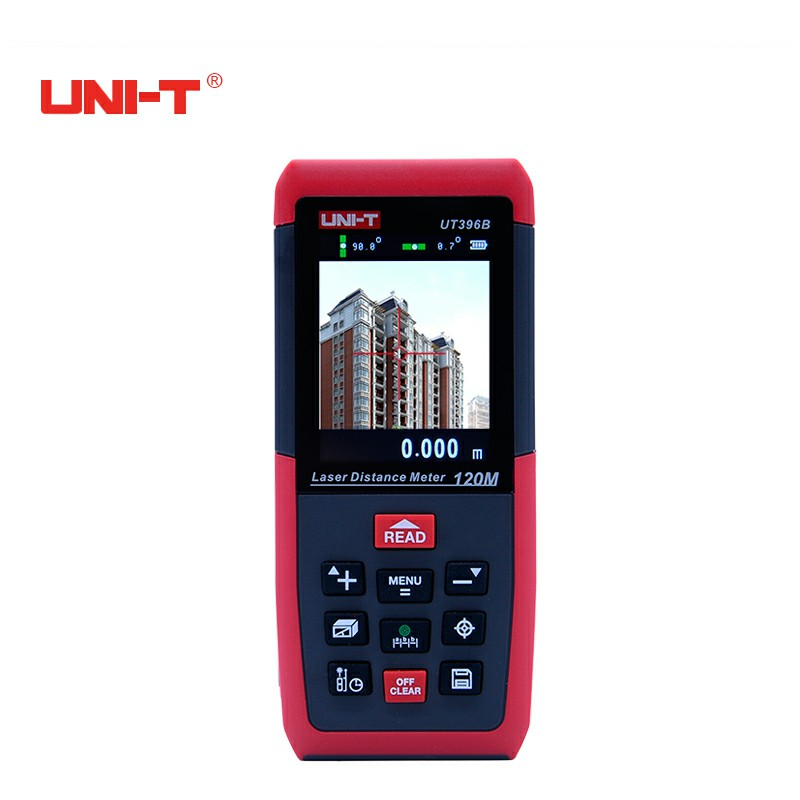 Professional Laser Distance Meters UNI-T UT396B 120M Laser Range finder Digital range finder Measure Area/volume Tool купить в Москве 2019