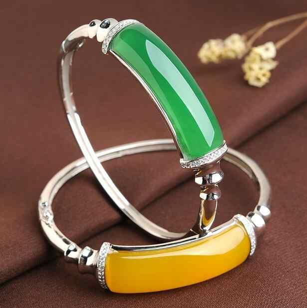 925 เงินย้อนยุคธรรมชาติโมราชายและหญิงคนรักแฟชั่นสีขาวหยกแหวนฝังแหวน