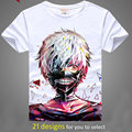 Digital impreso hot anime de tokio Ghoul Tokio Ghoul Tokio Ghoul Ken Kaneki corto manga camiseta ropa Camiseta de los hombres camiseta