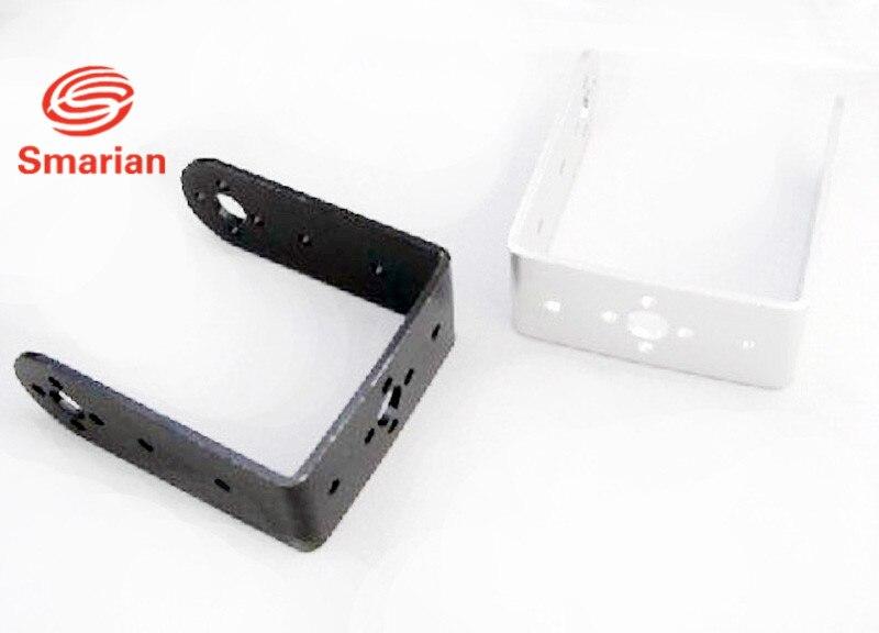 New Black U-Shaped Beam Humanoid Robot Waist MEeering Gear Bracket cheap Jj